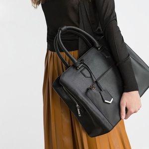 Zara Office City Bag Black Large